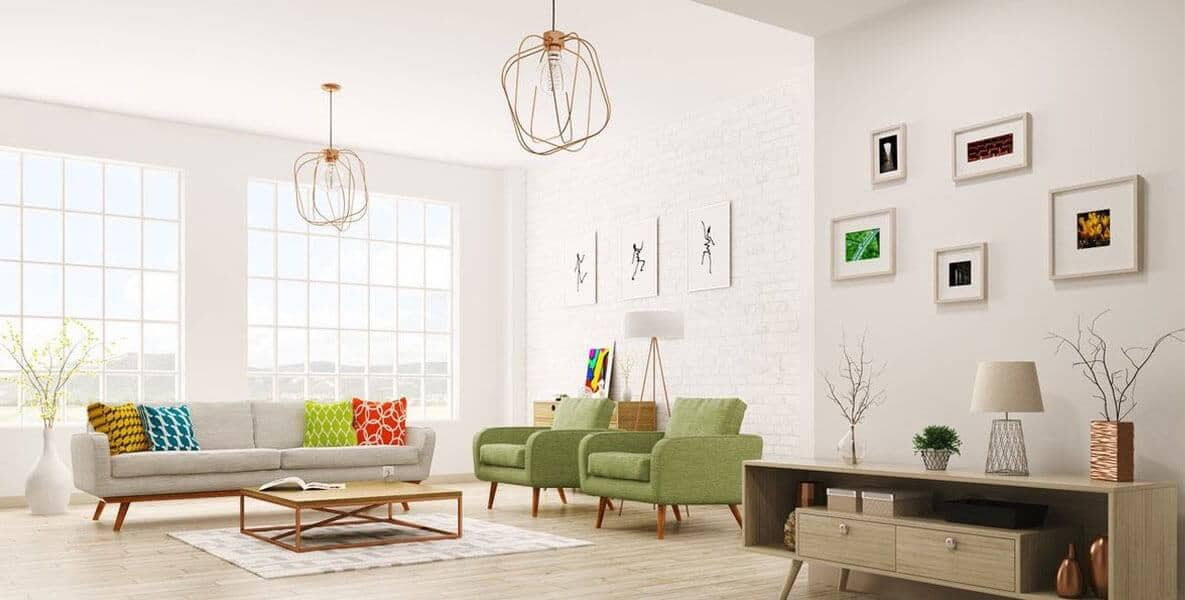 Living Room Home Painting Houston