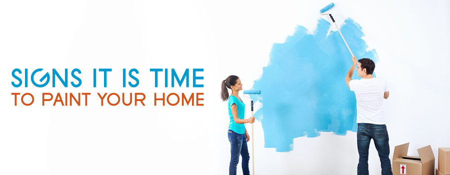 Signs It Is Time to Paint Your Home