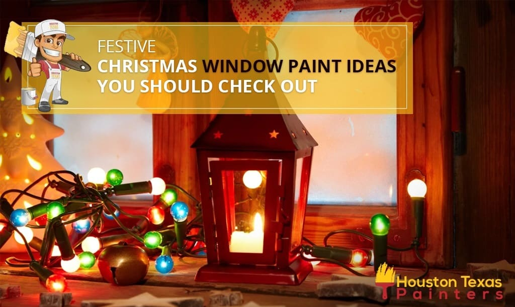 Festive Christmas Window Paint Ideas You Should Check Out