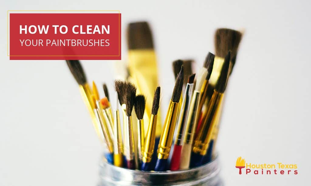 How To Clean Your Paintbrushes