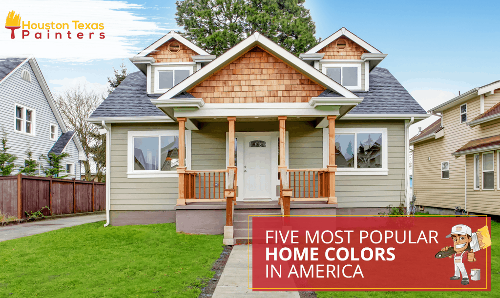 Five Most Popular Home Colors in America