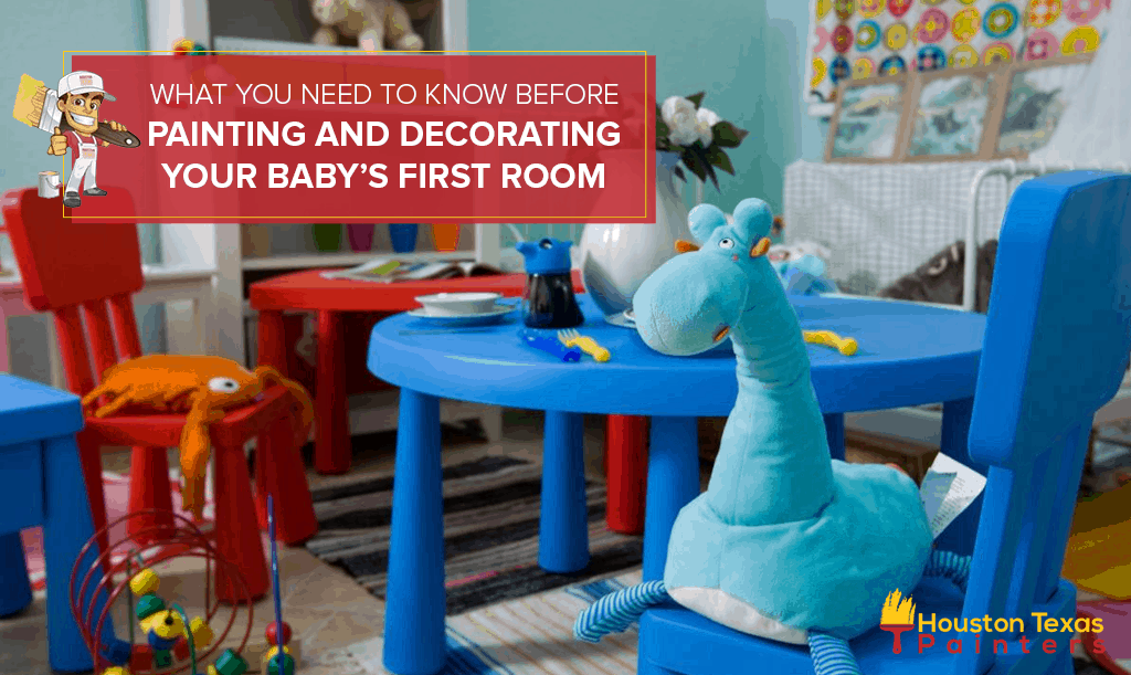 What You Need To Know Before Painting and Decorating Your Baby's First Room