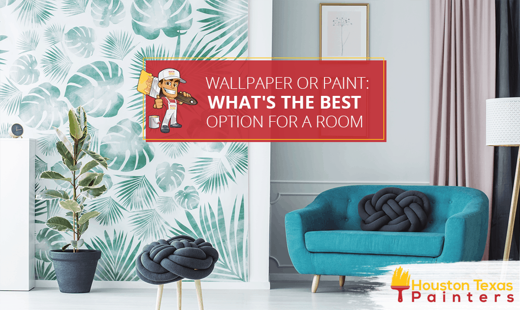 Wallpaper or Paint What's the Best Option for a Room