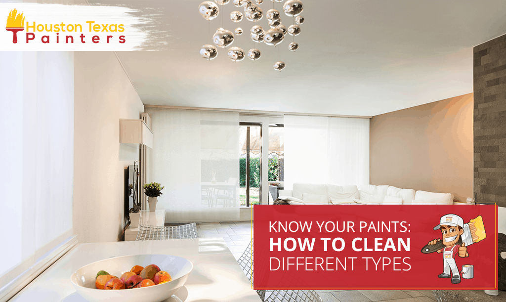 Know Your Paints: How to Clean Different Types