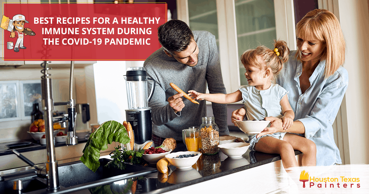 Best Recipes For A Healthy Immune System During The Covid-19 Pandemic