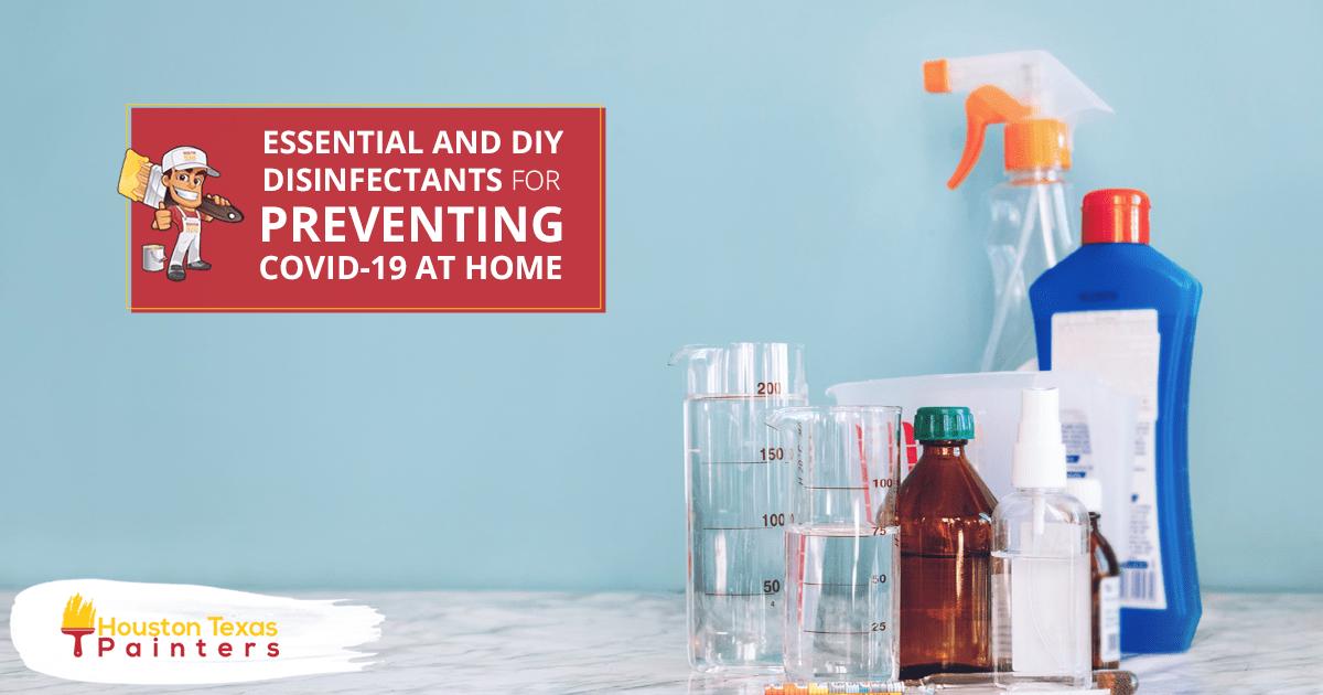 Essential And DIY Disinfectants For Preventing COVID-19 At Home